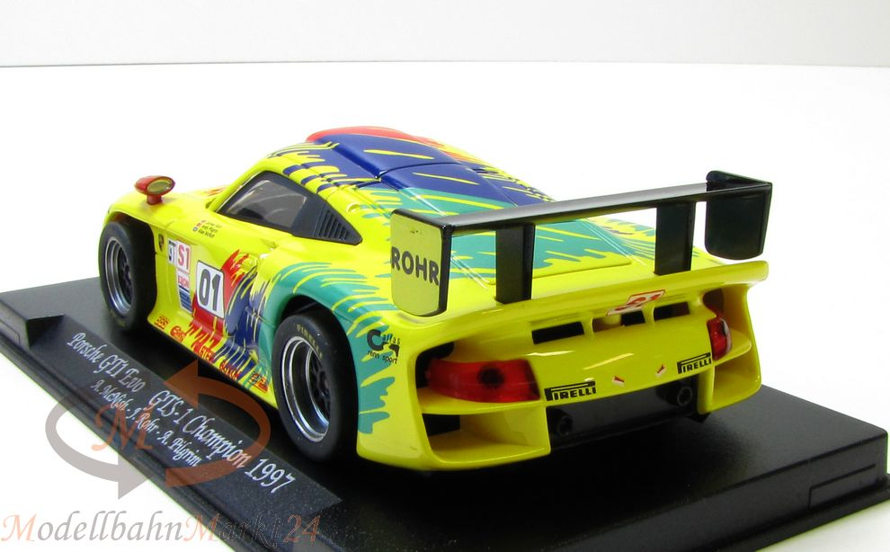 fly gb 74 porsche gt1 evo gts 1 champion 1997 slotcar scale 1 32 ovp. Black Bedroom Furniture Sets. Home Design Ideas