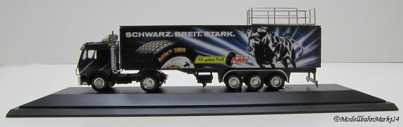 herpa lkw mercedes benz fulda ma stab 1 87 ovp ebay. Black Bedroom Furniture Sets. Home Design Ideas