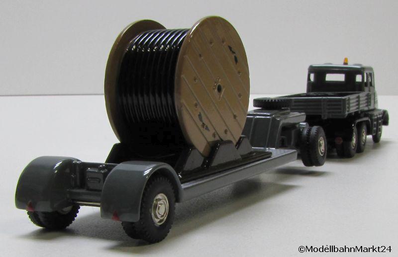bub kaelble transporter mit anh nger und kabelrolle ma stab 1 87 ovp ebay. Black Bedroom Furniture Sets. Home Design Ideas